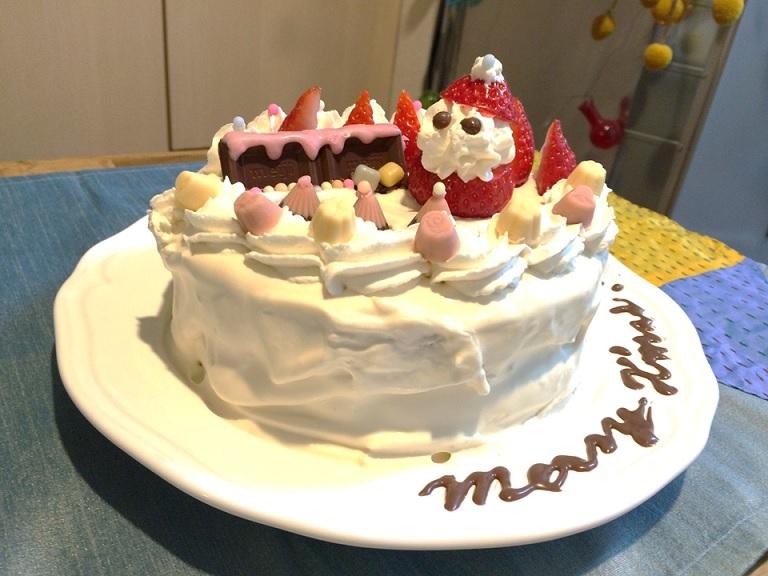 キャビック株式会社のブログ-キャビッククリスマスケーキ