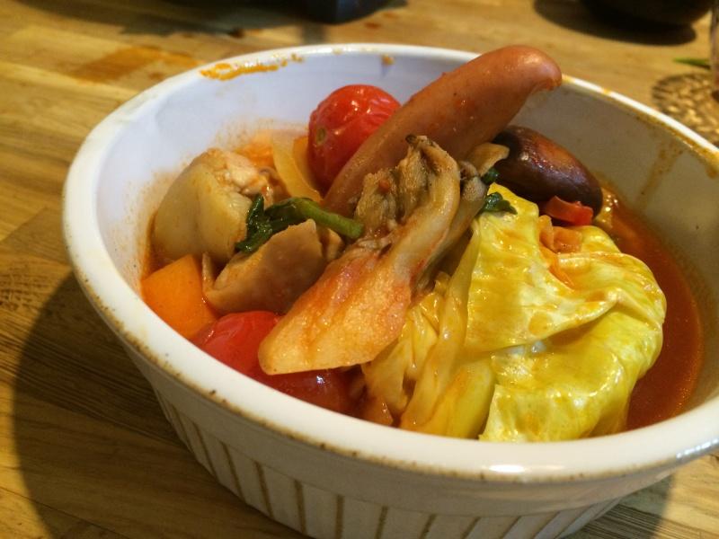 カゴメ『トマト鍋スープの素』