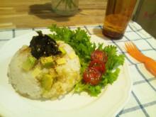 キャビック株式会社のブログ-アボカドとチーズのレモン風味混ぜご飯