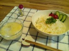 キャビック株式会社のブログ-特濃4.4ミルクで食べる変わり素麺③