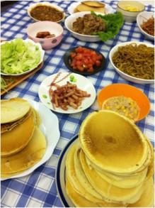 キャビック株式会社のブログ-パンケーキでHAVE A PARTY